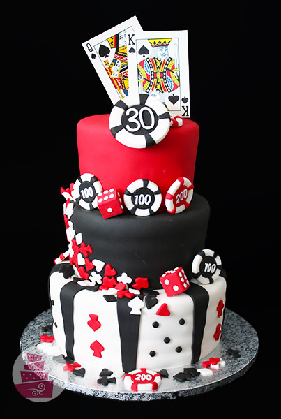 Narodeninová torta Casino