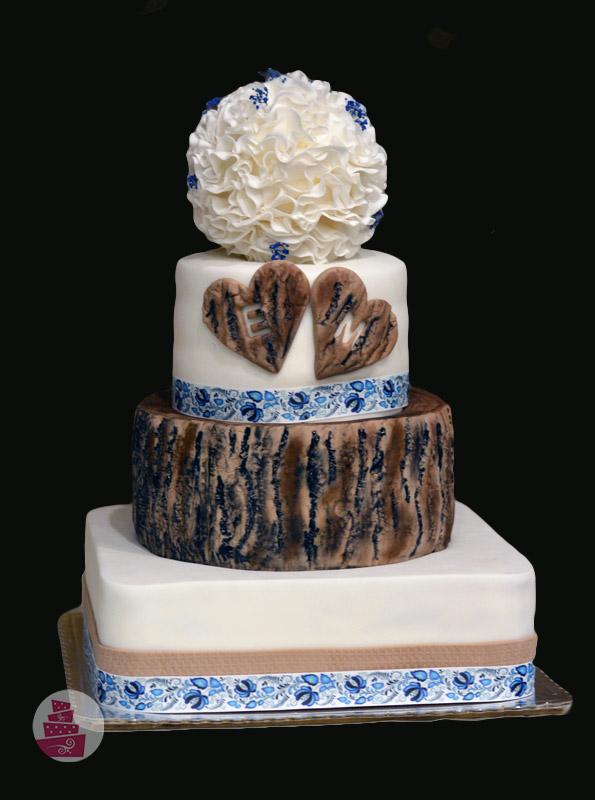 svadobna-torta-folklorna-naturalna-drevo